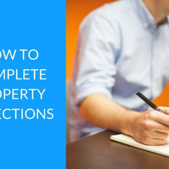 How to complete property inspections